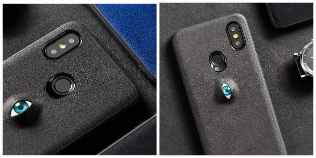 Чехол для смартфона с глазом