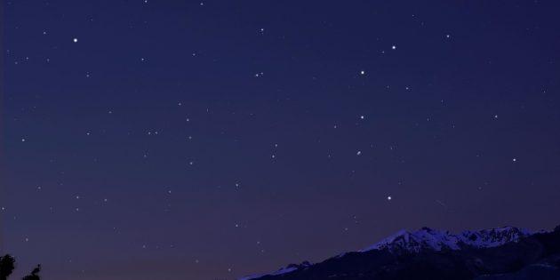 Звёздное небо: Кассиопея