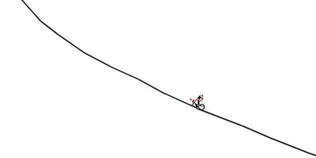Флеш-игры: Line Rider