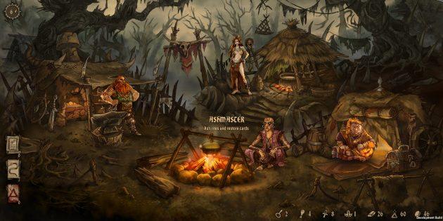 Игра дня: Deck of Ashes — мрачная RPG с карточными боями