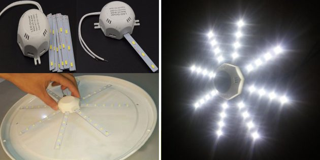 Светодиодный потолочный светильник