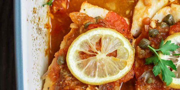 Как приготовить судака в томатном соусе в духовке