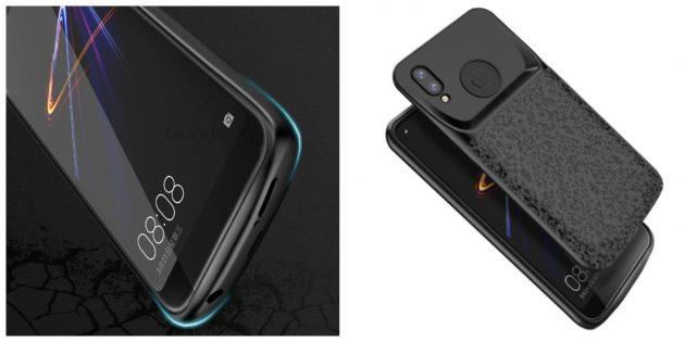 Чехол для смартфона со встроенной батареей