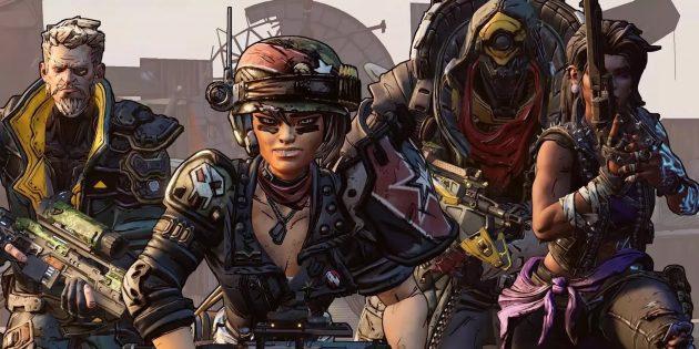 Кто главные герои Borderlands 3