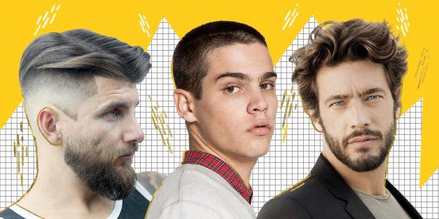 7 самых модных мужских стрижек 2019 года