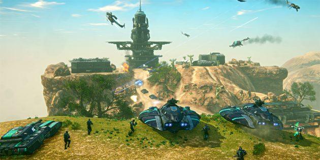 Лучшие бесплатные игры на ПК: Planetside 2
