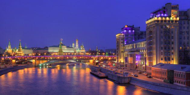 Куда поехать на майские: Москва