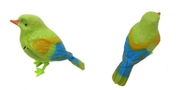 Птица с голосовым управлением