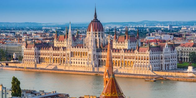 Города Европы: Венгрия, Будапешт