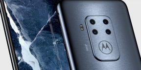 Первый смартфон Motorola с четырьмя камерами показали на рендерах