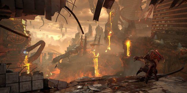 Doom Eternal: игроков ждут новые виды оружия, монстры, локации и приспособления для убийства демонов
