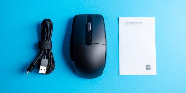 Игровая мышь Xiaomi Mi Gaming Mouse: содержимое коробки