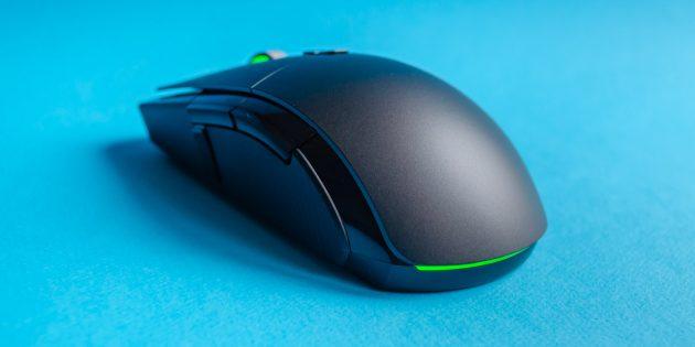 Игровая мышь Xiaomi Mi Gaming Mouse: на левой стороне устройства размещено ещё три кнопки