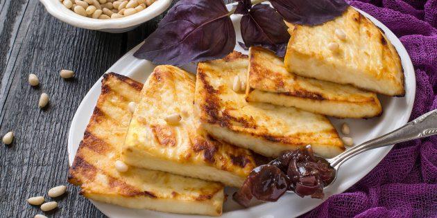 Что приготовить на природе, кроме мяса: ароматный адыгейский сыр на гриле