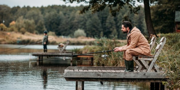 Отпуск дома: Сходите на рыбалку