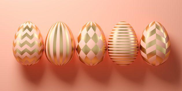 Как правильно красить яйца луковой шелухой и пищевыми красителями
