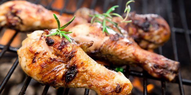 Как приготовить шашлык из курицы: маринад с киви