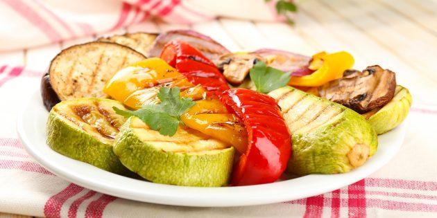 Что приготовить на природе, кроме мяса: овощи на гриле