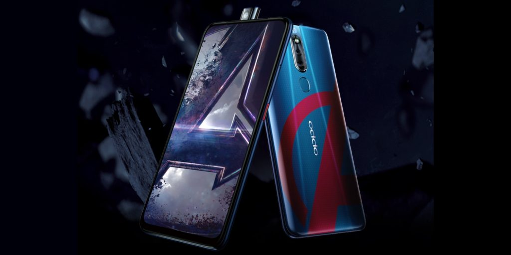 OPPO выпустила безрамочный смартфон, посвящённый Мстителям Marvel