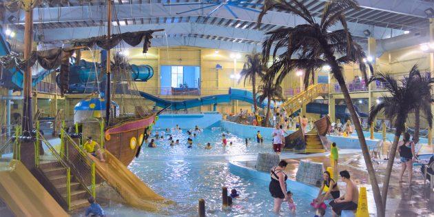 Активные развлечения: аквапарк