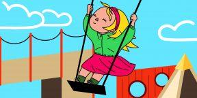 Тарзанки, гамаки и дерево вместо пластика: какой должна быть детская площадка