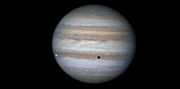 Звёздное небо: Юпитер