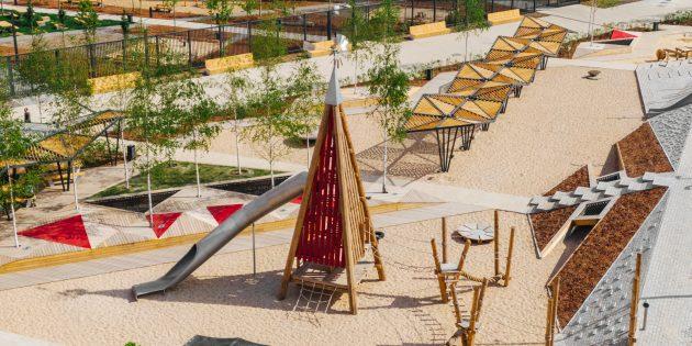 Детские площадки должны быть развивающими и безопасными: плейхаб в жилом районе «Саларьево парк»