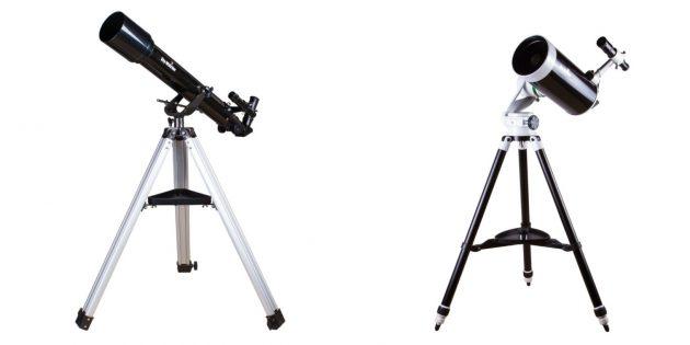 Как смотреть на звёздное небо: важно выбрать прибор с подходящим диаметром объектива