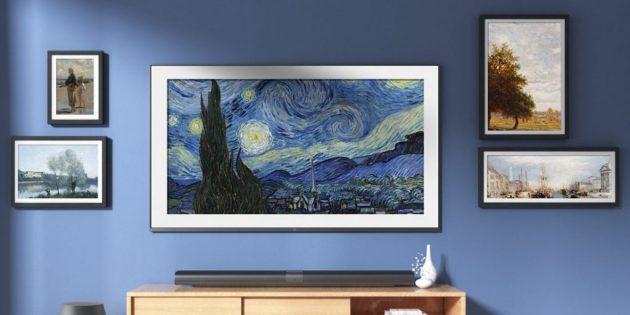 Xiaomi ART TV 1024x514 1556023834 630x315 Xiaomi представила ультратонкий телевизор в формате настенной картины