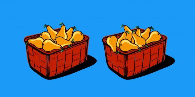 Задачи на логику: о грушах