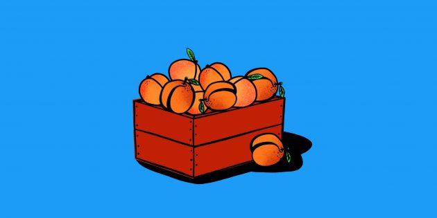 Задачи на логику: о персиках