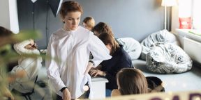 Рабочие места: Людмила Сарычева, редактор и издатель «Дела Модульбанка»