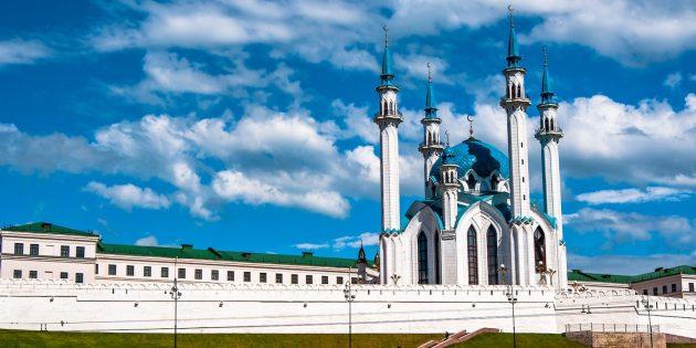 Куда поехать на майские: Вид на Казанский кремль