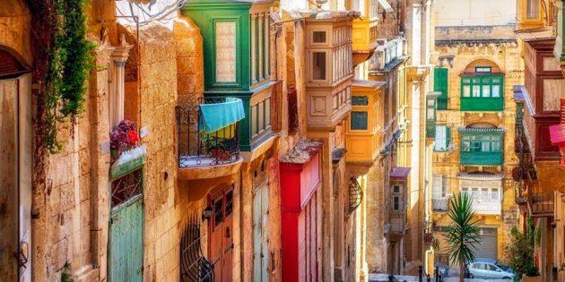 Города Европы: Валлетта, Мальта