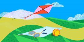 10 весёлых подвижных игр для летних выходных