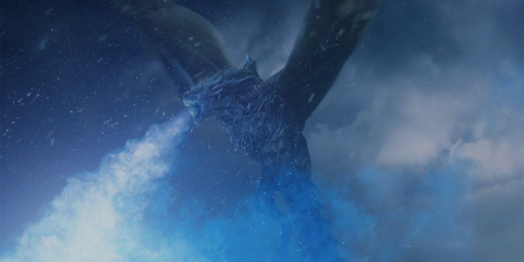 8-й сезон игры престолов: Теперь у предводителя мертвецов есть собственный дракон