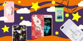 13 сумасшедших чехлов для смартфона дешевле 300 рублей