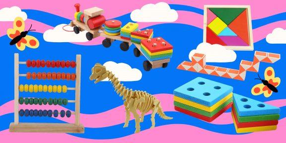 15 игрушек, которые сделают вашего ребёнка гением