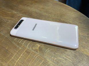 Samsung представила Galaxy A80 с выдвижной вращающейся камерой