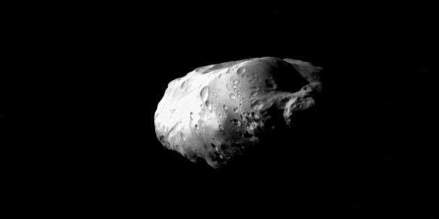 Фото космоса: космическая картофелина