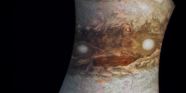 Фото космоса: лицо Юпитера