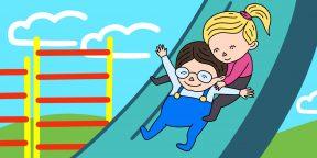 8 развивающих игр для прогулки с детьми