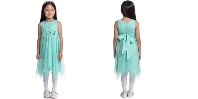 Платье с цветком от PlayToday