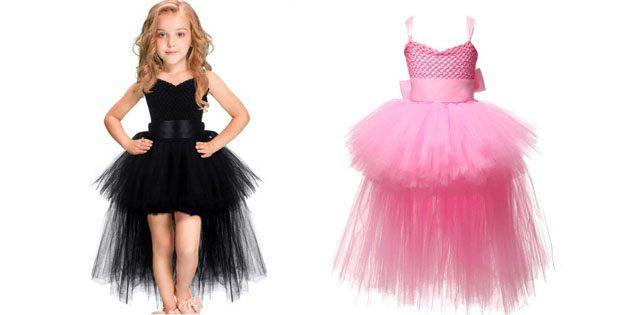 Детские платья на выпускной: Платье со шлейфом