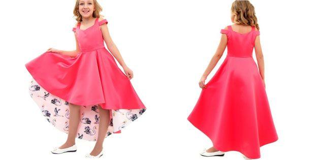 Платье со шлейфом от Ladetto