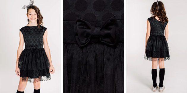 Детские платья на выпускной: Платье с многослойной юбкой от Cookie