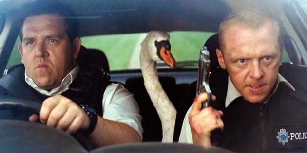 Эдгар Райт и его фильмы: сюжетная линия с поиском сбежавшего лебедя основана на рассказах реальных полицейских
