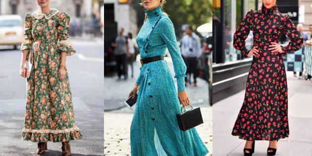 458bf394e1a Модные платья 2019 года  платья в стиле вестерн