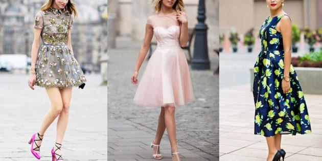 Модные платья 2019года: платья как на выпускном