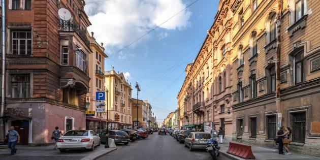 Куда поехать на майские: Вид на улицу Рубинштейна